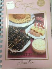 Company's Coming Appetcookbook cook book recipes spiral softcover vintage