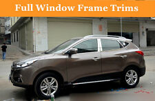 For Hyundai Tucson ix35 2010-2014 Stainless steel Full Window Frame Trims