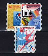 LUXEMBOURG Yvert n° 1424/1426 neuf sans charnière