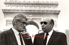 JOSEPH KESSEL Jean-Pierre MELVILLE Paris Arc de Triomphe WURTZ Photo 1969