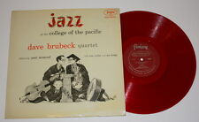 DAVE BRUBECK Jazz at the College of Pacific FANTASY 3223 LP red  vinyl