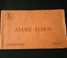Messageries Maritimes SS ANDRE LEBON Postcard Book
