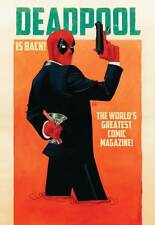 Deadpool 2 Wada 1:25 variant cover Marvel re-launch