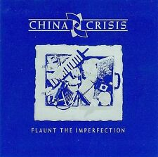 China Crisis Flaunt The Imperfection - 1985 Virgin UK CD - W German pressing