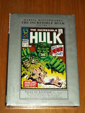 MARVEL MASTERWORKS INCREDIBLE HULK VOL 3 #102 TALES TO ASTONISH #80-101 HB GN