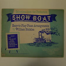 easy play piano selection SHOW BOAT
