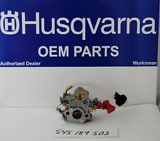 HUSQVARA OEM 545189502 Carburetor also for  Poulan Pro 133 333 & CRAFTSMAN