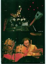 KISS / Deep Purple drummers magazine PHOTO / mini Poster 11x8 inches