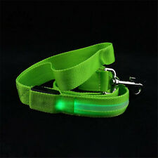Pet, Cat, Dog, LED Leash Safety Glow Leash Flashing Lights Up Good Quality