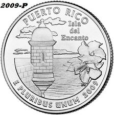2009-P PUERTO RICO UNCIRCULATED QUARTER - I HAVE ALL TERRITORY QUARTERS LISTED