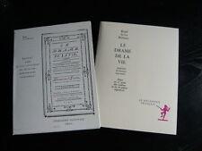 Restif de La Bretonne-le drame de la vie-1991-théâtre-pièce en 13 actes...