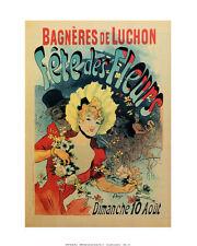 Fête des Fleurs, Festival of Flowers, Bagneres de Luchon by Jules Cheret Poster