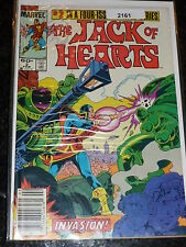 THE JACK OF HEARTS - Vol 1 - No 2 - Date 02/1984 - Marvel Comic 60c