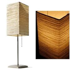 2 Table Lamp Modern Asian Rice Paper Light Mood Moody FREE SHIPPING!
