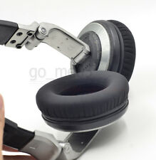 Matte black Ear pads cushion for Pioneer hdj1000 hdj2000 mk2 hdj1500 headset uk