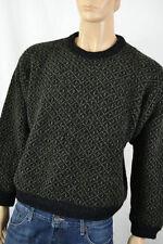 Retro L.L. BEAN Crewneck Wool Blend Sweater size XL Norwegian Fisherman      R14