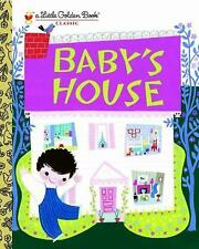 Little Golden Book: Baby's House illus. by Mary Blair c2010, NEW Hardcover