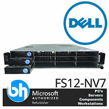 Dell Cloud Twin Quad Core Storage Server FS12-NV7 8GB ECC RAM AMD VMWare Ready