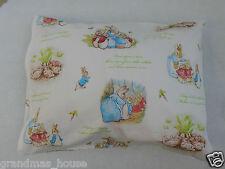 Child Toddler Cot Pillowcase - Beatrix Potter - Peter Rabbit - 100% Cotton