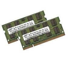2x 2gb 4gb per Dell XPS m1210 m1330 m1530 m1710 memoria RAM ddr2 800mhz SO-DIMM
