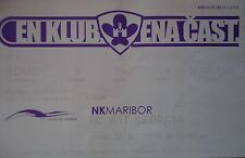 TICKET UEFA CL 2009/10 NK Maribor - FC WIT Georgia