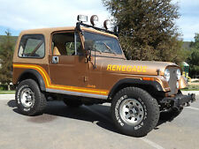 1986 Jeep Renegade 4x4 convertible