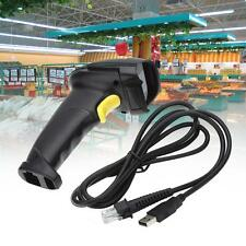 Automatic Barcode Scanner USB Laser Scan Bar Code Reader With Handheld stand TR