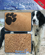 Microfibre Dog Towel 140x75CM - Large - Absorbent - Soft - Washable - Durable