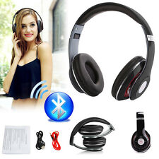 TM-010S Stereo Bluetooth Wireless Headsets/Headphones W/ Call Mic For Samsung UK
