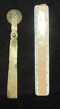 Antique Indian Traditional Rare Brass Pastry Cutter # 5