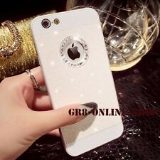 Luxury Bling Glitter Crystal Diamond Back Case Cover For iPhone 4 5 6 6S Plus