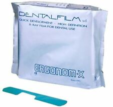 Ergonom X Dental X Ray Self Developing Dental Films pack of 50 Films.