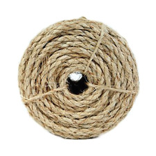 Koch Industries Twisted Sisal Rope 1/2 Inch by 50 Feet Natural Coil