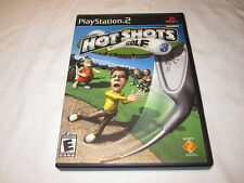 Hot Shots Golf 3 (Playstation PS2) Original Release Complete LN Perfect Mint!