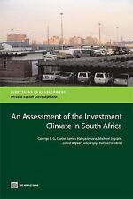 An Assessment of the Investment Climate in South Africa (Directions in-ExLibrary
