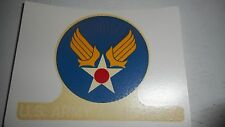 WW2 US Army Air Forces Iron On transfer Decal Original Vintage Decal