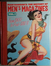 DIAN HANSON'S: THE HISTORY OF MEN'S MAGAZINES - Volume 1 - Taschen - BLISTERATO!
