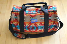 Pendleton Mini Broken Diamond Duffel Bag Aztec Wool SOLD OUT MSRP $338 Woolrich