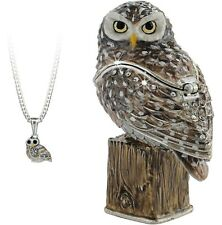 TRINKET BOX - Secrets Arora  - OWL   NEW