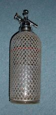Vintage Art Deco 1930s Spritzer Macy's Senior Soda Syphon Bottle Made in England