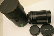 Pentax Super Takumar 135mm F3.5 Lens.  M42 screw fit