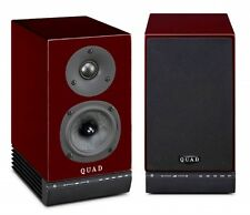Quad 9AS  Active Loudspeakers  RED RUBY  BRAND NEW