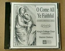 O Come All Ye Faithful King's College Choir Cambridge CD Christmas hymns carols