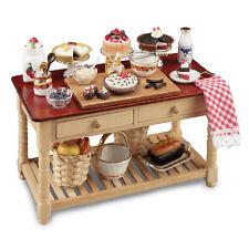 Reutter Porzellan Kuchentisch / Cake Working Table Puppenstube 1:12 Art. 1.727/1