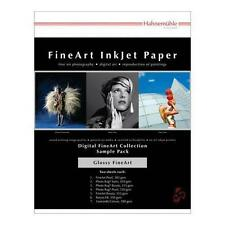 "Hahnemuhle FineArt Glossy Inkjet Paper Sample Pack, 8.5x11"", 14 Sheets #11640308"
