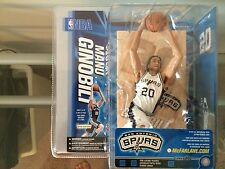 Manu Ginobili Mcfarlane NIB Series 10 NBA San Antonio Spurs Hard To Find Chase