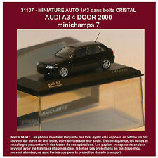 31107MINIATURE AUTO 1/43 AUDI A3 4 DOOR 2000 MINICHAMPS