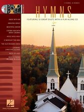 Hymns Sheet Music Piano Duet Play-Along Book and CD NEW 000290556
