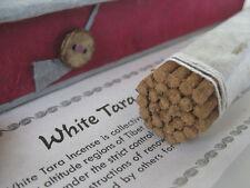 Tibetan Incense sticks ~ WHITE TARA ~ 35 medicinal ingredients, handmade box