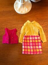 Vintage Mattel Barbie Francie Doll Vested Interest Outfit  1960s #1224